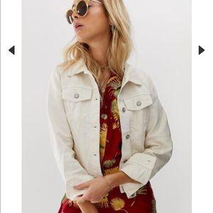 NWT free people denim jacket